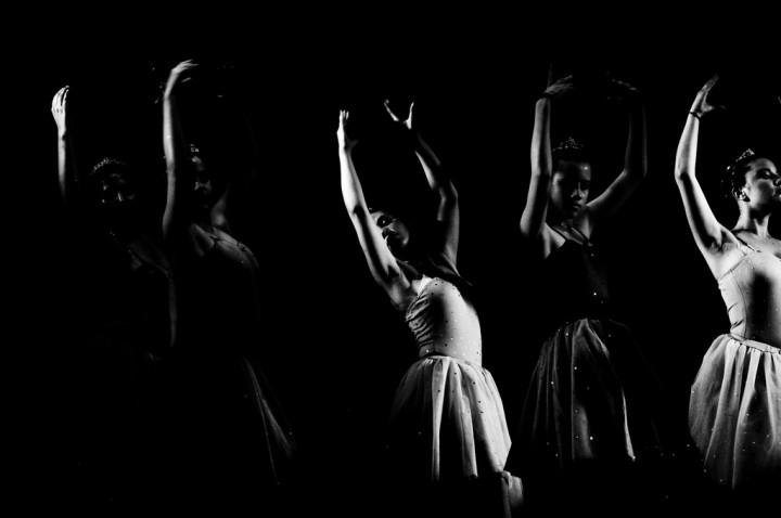 baletnice w tańcu