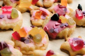słodkie słodkości ciasta ciasteczka kremóweczki