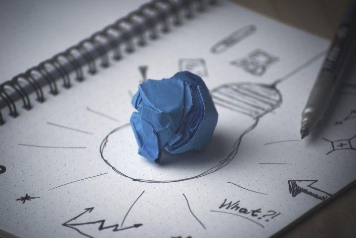 kreatywna kartka pracy, mapa myśl