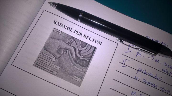 badanie per rectum