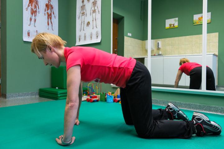 ćwiczenia w skoliozach i wadach postawy