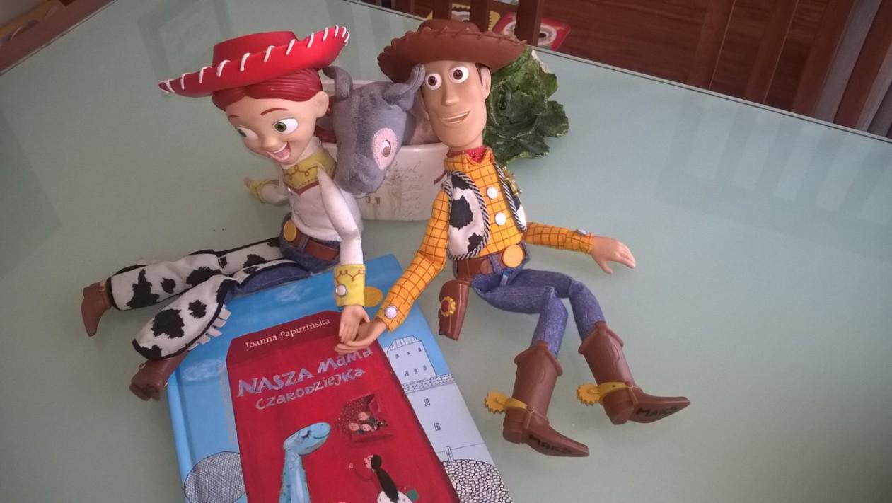 """Chudy i Jessie z Toy Story oraz """"Nasza mama czarodziejka"""""""