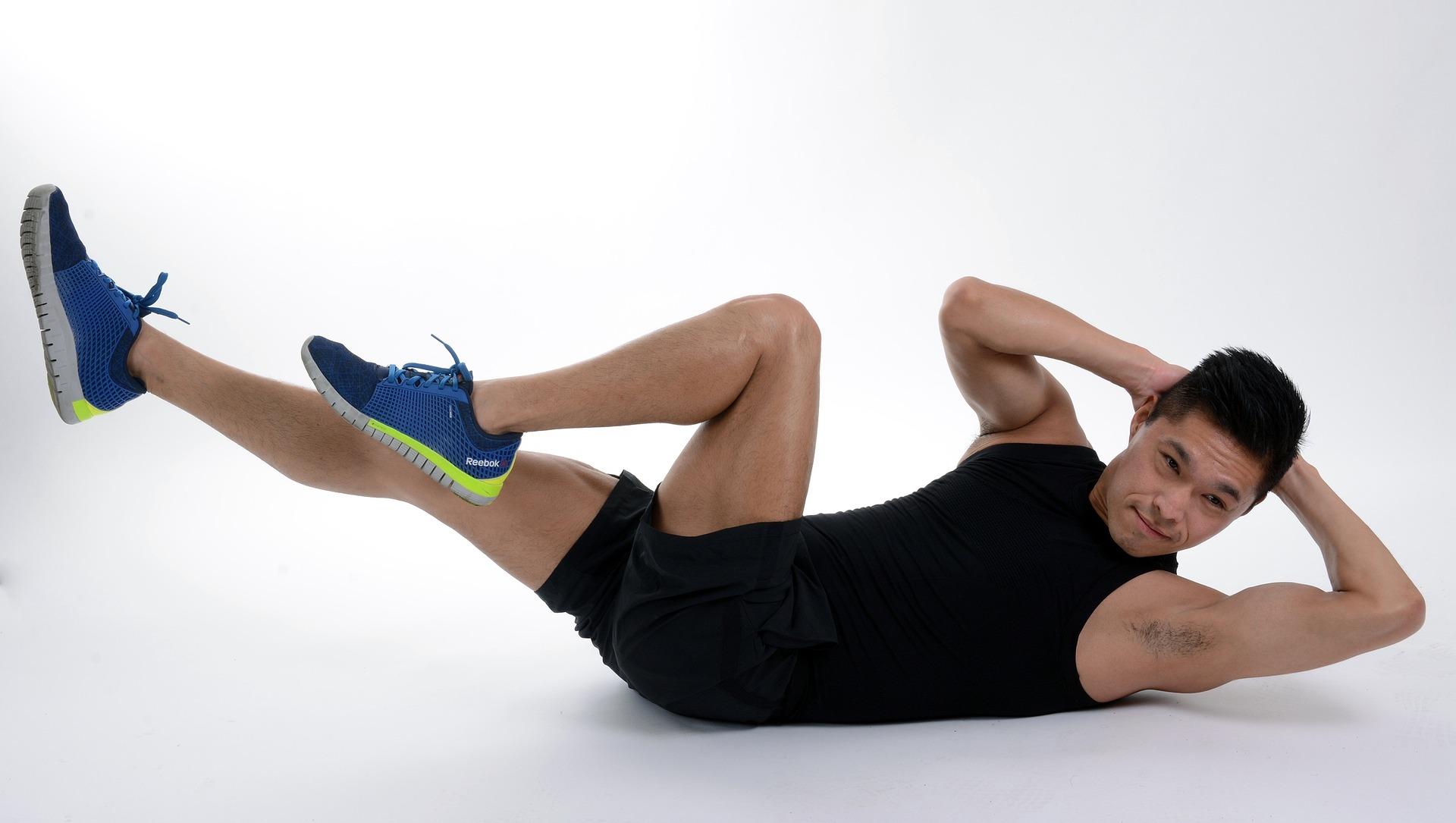 ćwiczenia mięśni skośnych brzucha
