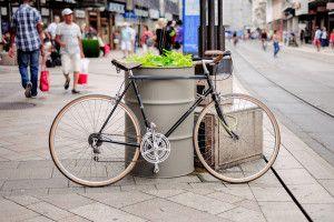 rowerem po zakupy